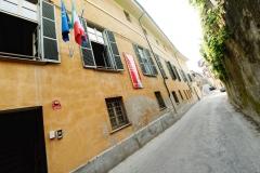 l'ingresso del CFP a Saluzzo